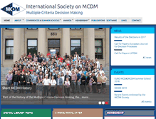 Tablet Preview of mcdmsociety.org